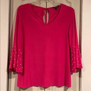 Women's Roz & Ali Bell Sleeve Blouse